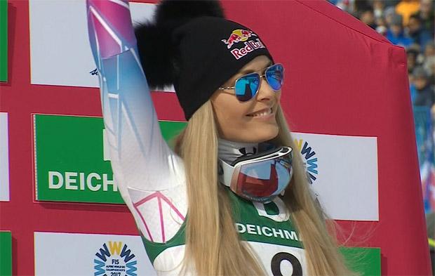 SKI WM 2017 - ABFAHRT DER DAMEN: Bronze-Lady Lindsey Vonn im Portrait
