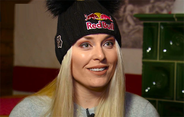 """Lindsey Vonn: """"Wenn ich nur mit 82 Weltcupsiegen abtrete bin trotzdem sehr, sehr happy."""""""