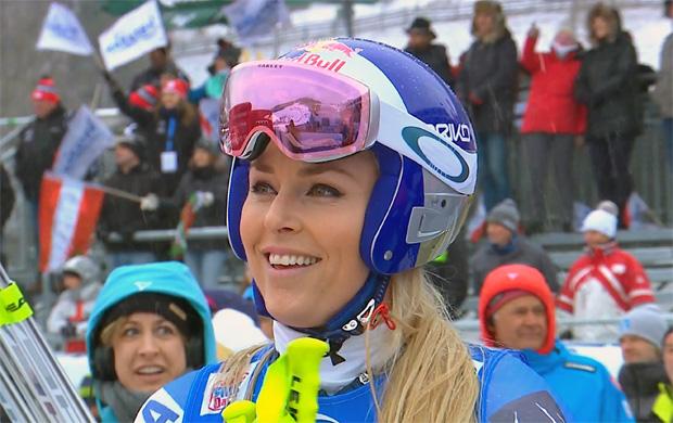 Lindsey Vonn dominiert 1. Abfahrtstraining in Cortina nach Belieben
