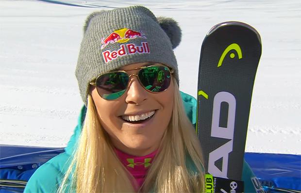 Lindsey Vonn gewinnt Samstagsabfahrt in Cortina d'Ampezzo