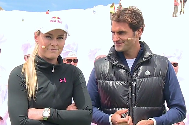 © youtube.com - Blick.ch / Lindsey Vonn und Roger Federer