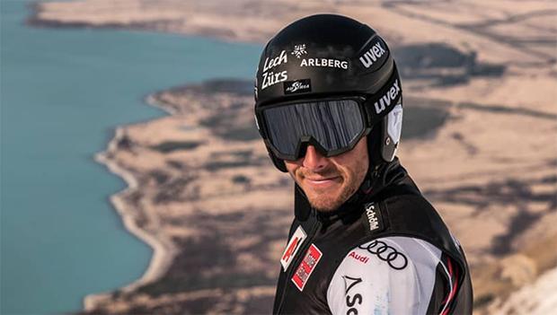 Magnus Walch präsentiert sich beim ANC-Riesentorlauf in Topform (Foto: Magnus Walch / instagram)