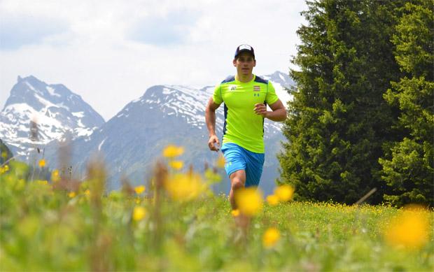 In seiner Heimat Lech lädt Magnus Walch seine Batterien wieder auf. (Foto: Markus Walch / privat)