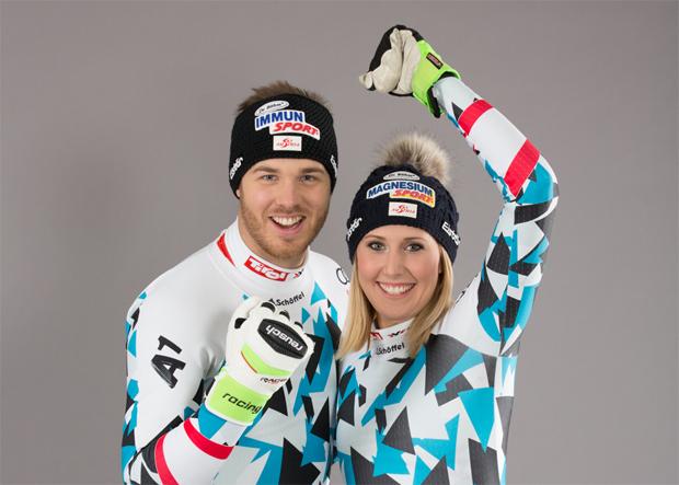 Christian Walder und Conny Hütter im Skiweltcup.TV-Interview (Foto: Apomedica/Kniepeiss)