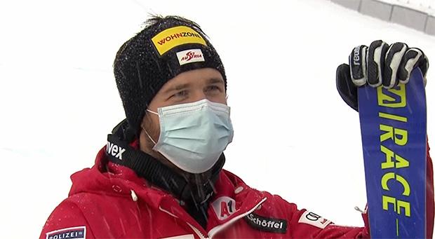 Christian Walder in Val d'Isere erstmals auf einem Ski Weltcup Podest