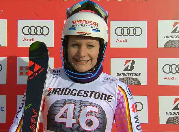 Marina Wallner fuhr mit Startnummer 46 auf Rang 19