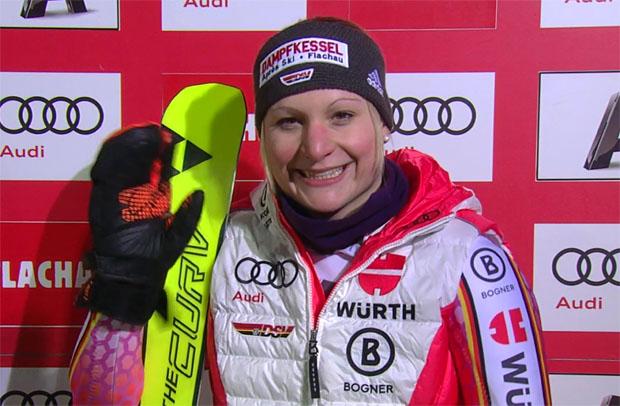 Marina Wallner will im Olympiawinter Gas geben