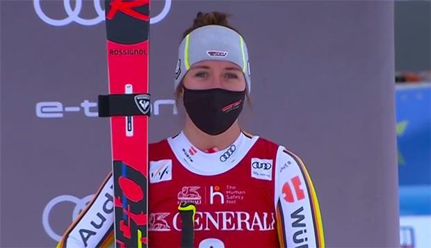 Für Kira Weidle ist eine Teilnahme an den deutschen Ski-Meisterschaften Ehrensache