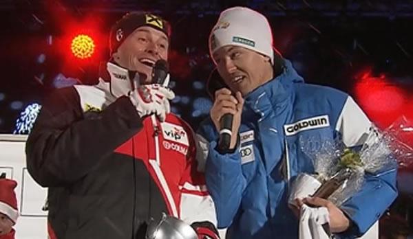 Der Skiweltcup freut sich auf das Weihnachtsfest 2011