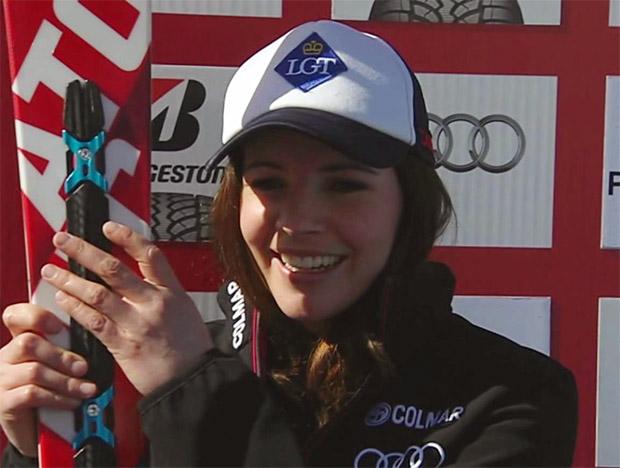 Tina Weirather gewinnt Abfahrt in Garmisch-Partenkirchen