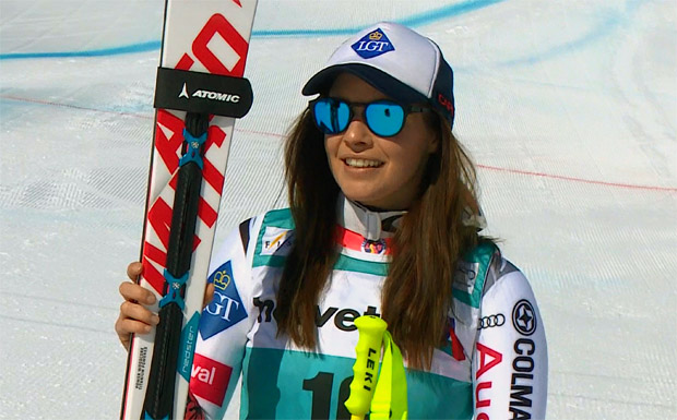 Weirather gewinnt Super-G in St. Moritz