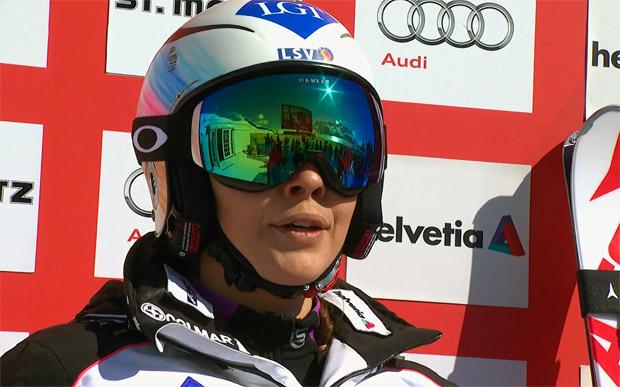 Tina Weirather gewinnt Liechtensteiner Riesenslalom-Meisterschaft