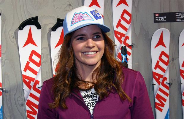 Das Gefühl von Tina Weirather passt (Foto: Walter Schmid / Skiweltcup.TV)