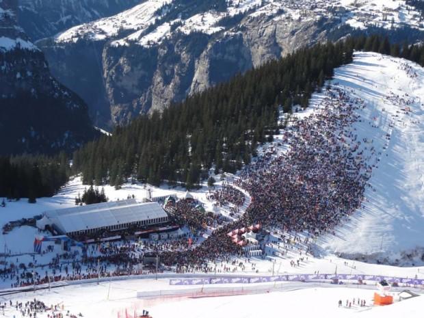 Lauberhorn-Abfahrt findet erst am Sonntag statt