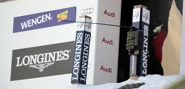Wind verbläst zweite Europacup-Abfahrt in Wengen