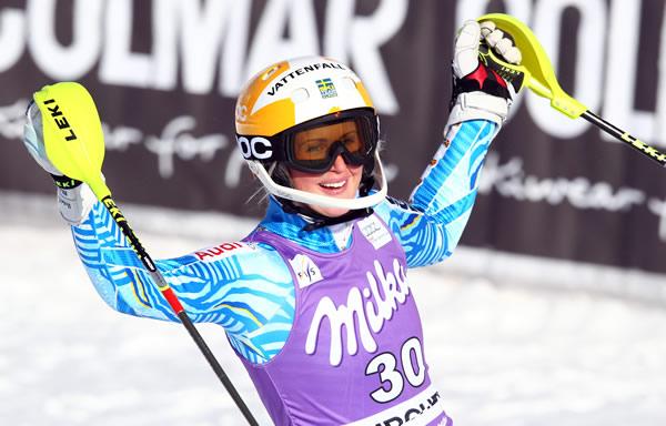 © Kraft Foods / Emelie Wikström, das schwedische Ski-Wunderkind