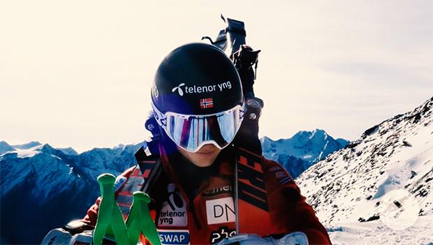 Fabian Wilkens Solheim gewinnt auch 2. Riesentorlauf in Trysil