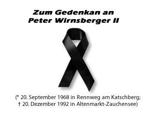 Vor 20 Jahren starb Peter Wirnsberger II