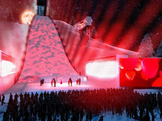 Die Eröffnungsfeier 2011 in Garmisch Partenkirchen