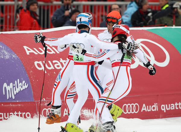 © Kraft Foods  /  WM 2011: Team-Weltmeister Frankreich