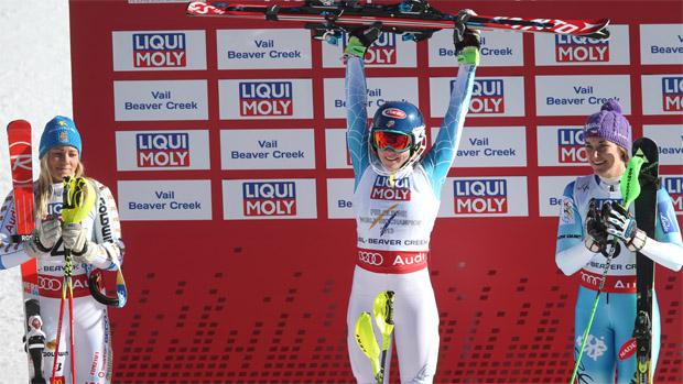 © Kraft Foods / Mikaela Shiffrin ist Slalom Weltmeisterin 2015