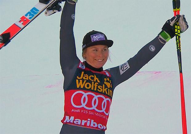 Riesentorlauf-Sieg in Maribor 2017 geht an Tessa Worley