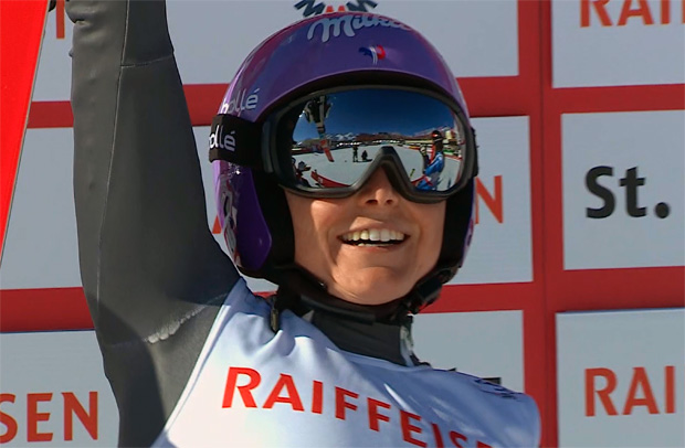 Riesentorlauf-Weltmeisterin Tessa Worley im Portrait