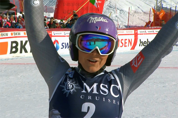 Nimmt Tessa Worley in der kommenden Ski Weltcup Saison den Super-G wieder ins Programm?