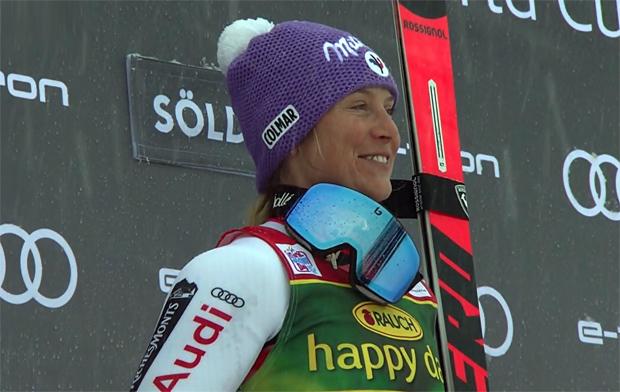 Riesentorlaufkönigin Tessa Worley denkt schon an die Ski-WM in Cortina d'Ampezzo