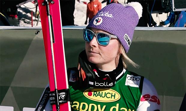 Triumph von Tessa Worley beim Europacup-Super-G von St. Moritz