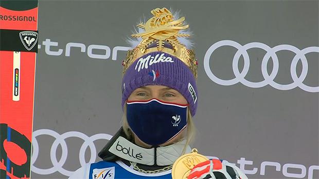Tessa Worley und die Vorfreude auf den Olympiawinter 2021/22