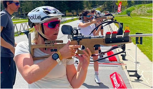 Tessa Worley will bei den Olympischen Winterspielen in Peking eine Medaille ins Visier nehmen. (Foto: Tessa Worley / Instagram)