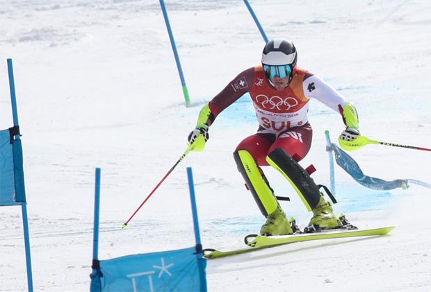 © GEPA/Fischer Sports / Daniel Yule belohnt sich im Teambewerb mit Gold