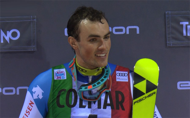 Daniel Yule gewinnt sensationell Slalom von Madonna di Campiglio