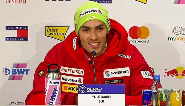 """Daniel Yule: """"Henrik Kristoffersen hat sich in dieser Saison als Mensch stark verbessert."""""""