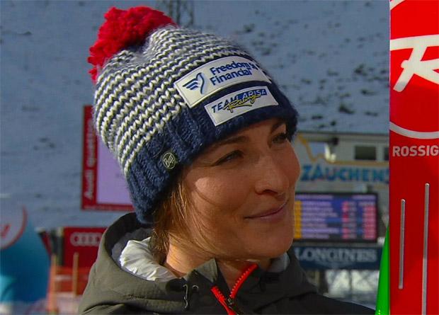 Osttiroler Schnee macht Larisa Yurkiw schnell