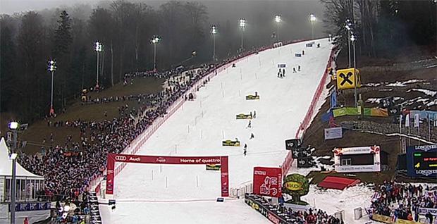 """Zagreb ist bereit - Positive Schneekontrolle  auf dem """"Sljeme"""""""