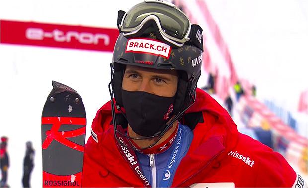 Ramon Zenhäusern gewinnt Slalom im Rahmen der Schweizer Meisterschaften
