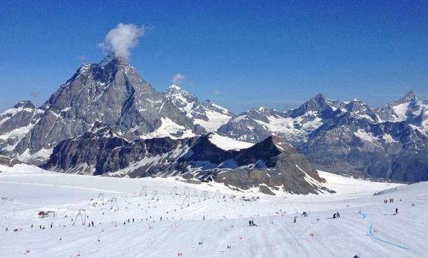 Zermatt will mit der längsten Ski Weltcup Abfahrt in die Geschichte eingehen