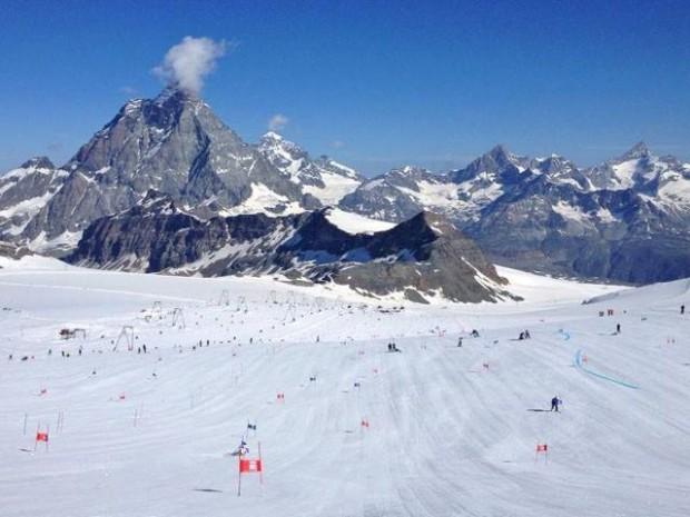 Swiss-Ski bereitet sich auf den heimischen Gletschern auf die WM-Saison 2020/21 vor. (Foto: © Swiss Alpin Ski Team)