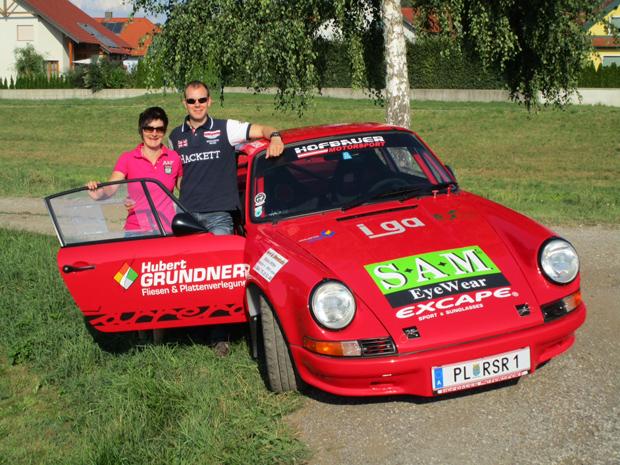 Kathrin Zettel gibt bei Austrian Rallye Legends 2015 Gas (Foto: Kurt Gaubinger)