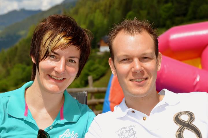 Kathrin Zettel und Kurt Gaubinger