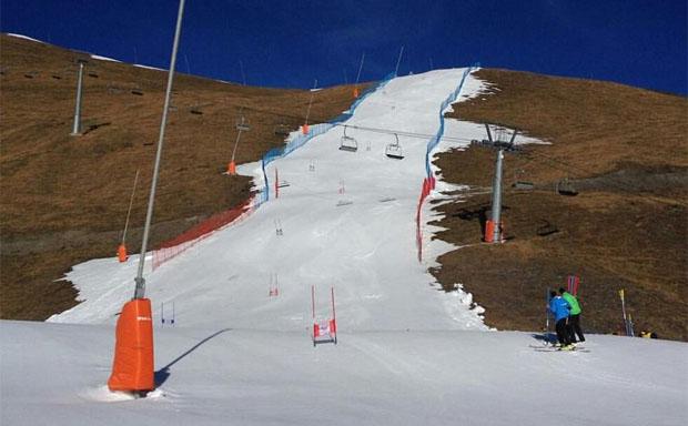 Neue Speed-Trainingsstrecke für Carlo Janka und Co. in der Schweiz