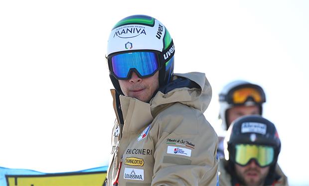 Hannes Zingerle wird in Sölden die Südtiroler Farben vertreten (Foto: © Archivio FISI/Alessandro Trovati/Pentaphoto)