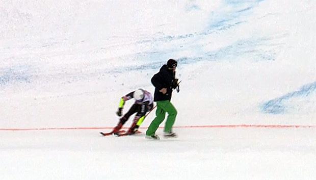 Filip Zubcic schrammte in Alta Badia knapp an einer Katastrophe vorbei.