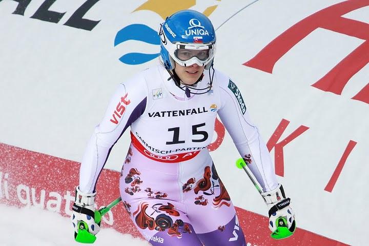 © Gerwig Löffelholz / Veronika Zuzulova gewinnt 1. Slalom in Innichen