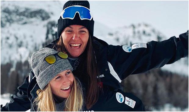 Die Stimmung stimmt: Laura Gauché und Tiffany Gauthier (Foto: Laura Gauché / Instagram)