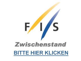 Zwischenstand nach dem 1. Durchgang beim Riesenslalom der Damen in Sölden - Bitte auf das FIS Logo klicken