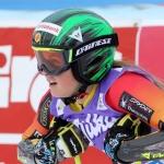 Mikaela Tommy greift bei der Junioren-WM nach Riesenslalom-Gold