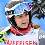 Anne-Sophie Barthet steht wieder auf den Skiern